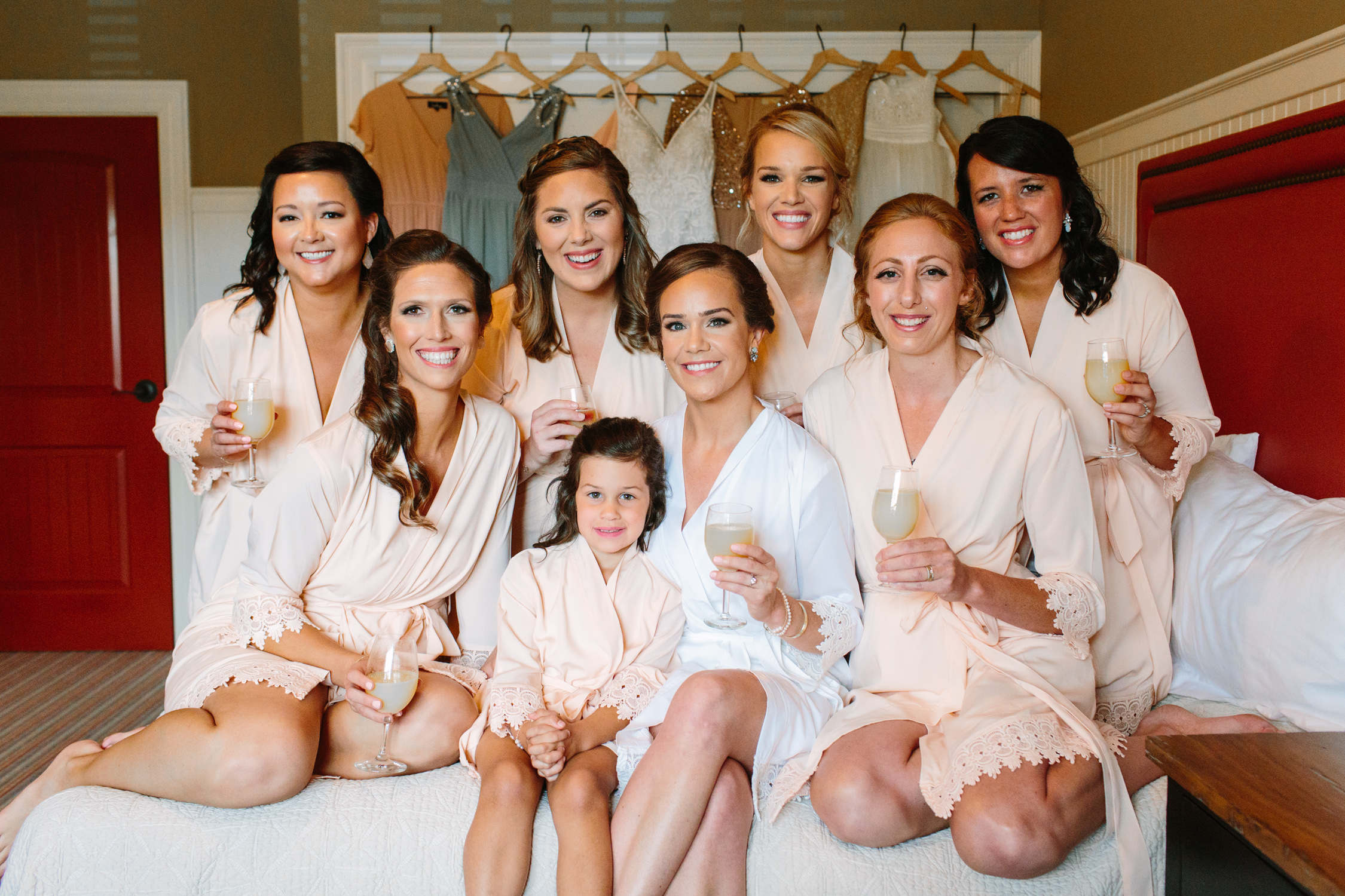 Bridesmaid Robes // Tennessee Photographer // Suzy Collins Photography // The Olde Farm
