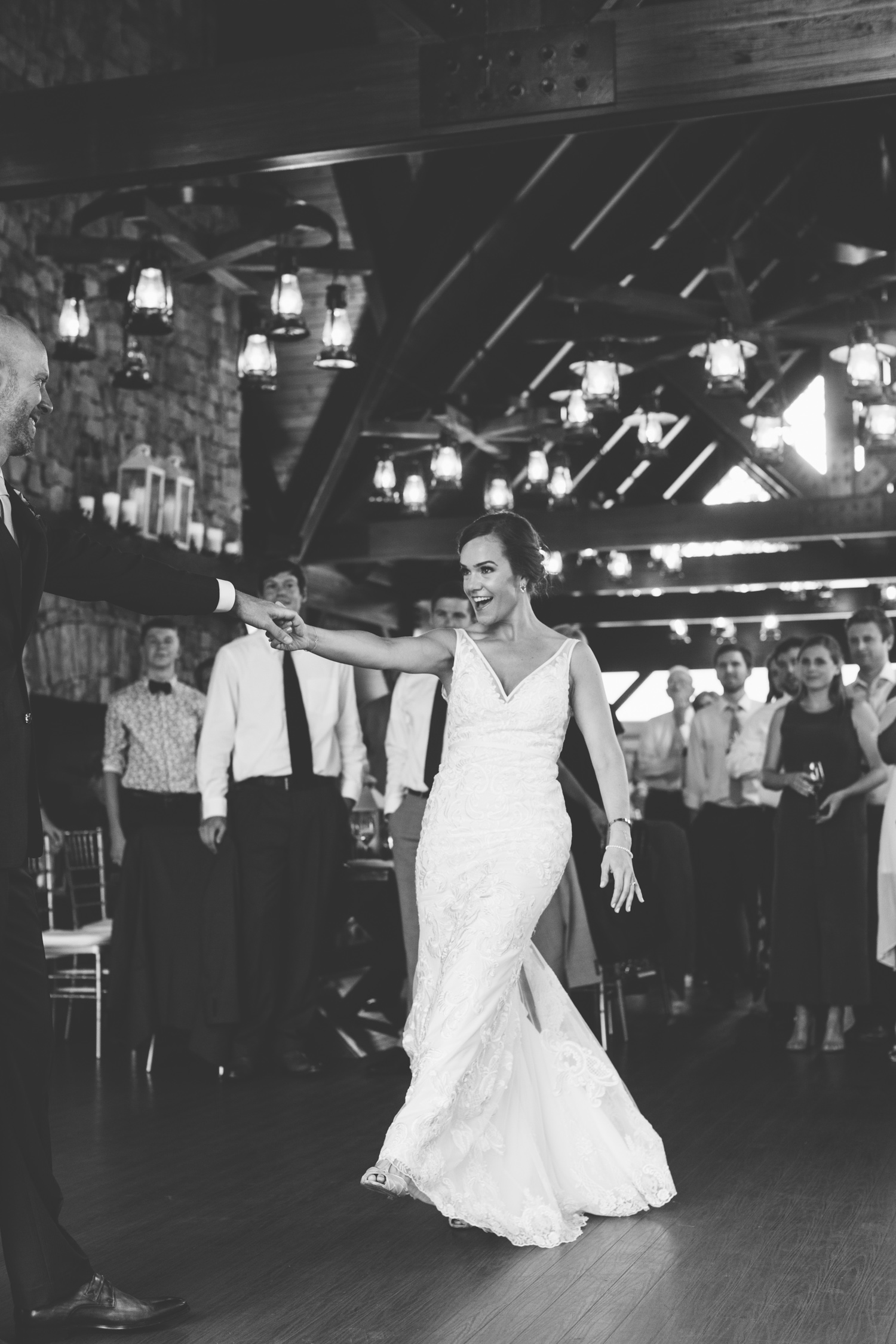 First Dance Romantic Pavilion Wedding // Tennessee Photographer // Suzy Collins Photography // The Olde Farm