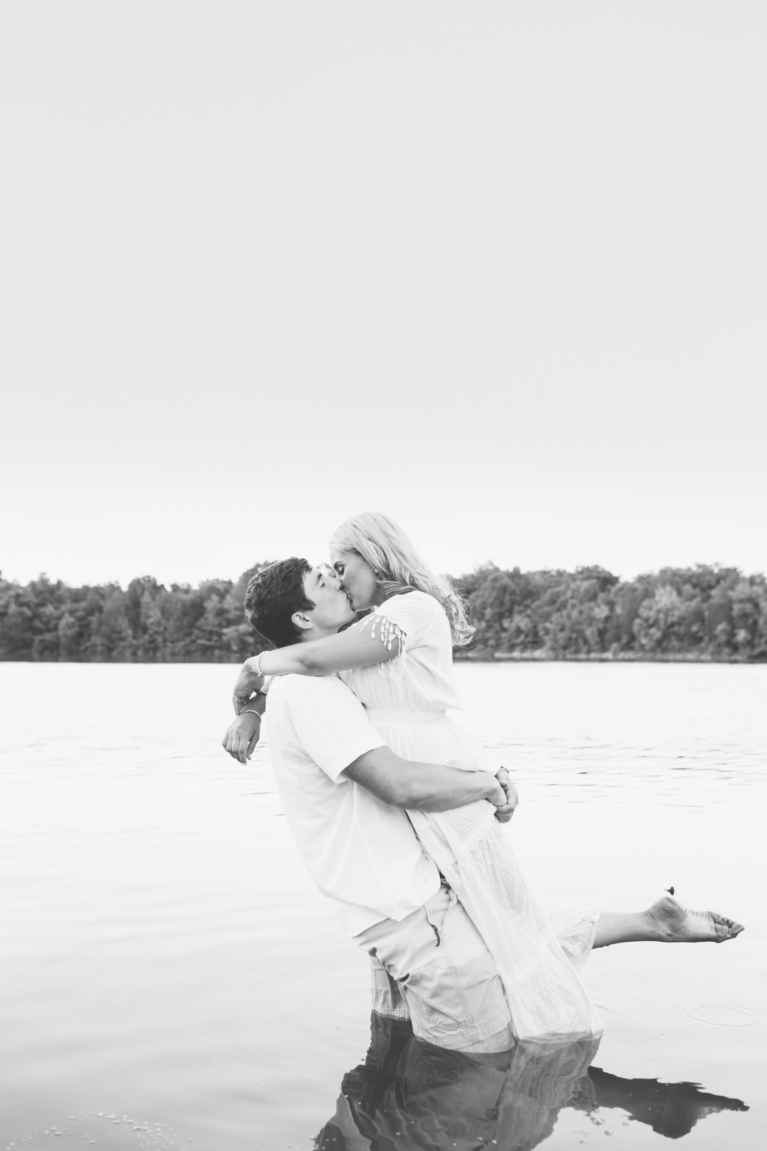 Water Engagement Photos // Knoxville Photographer