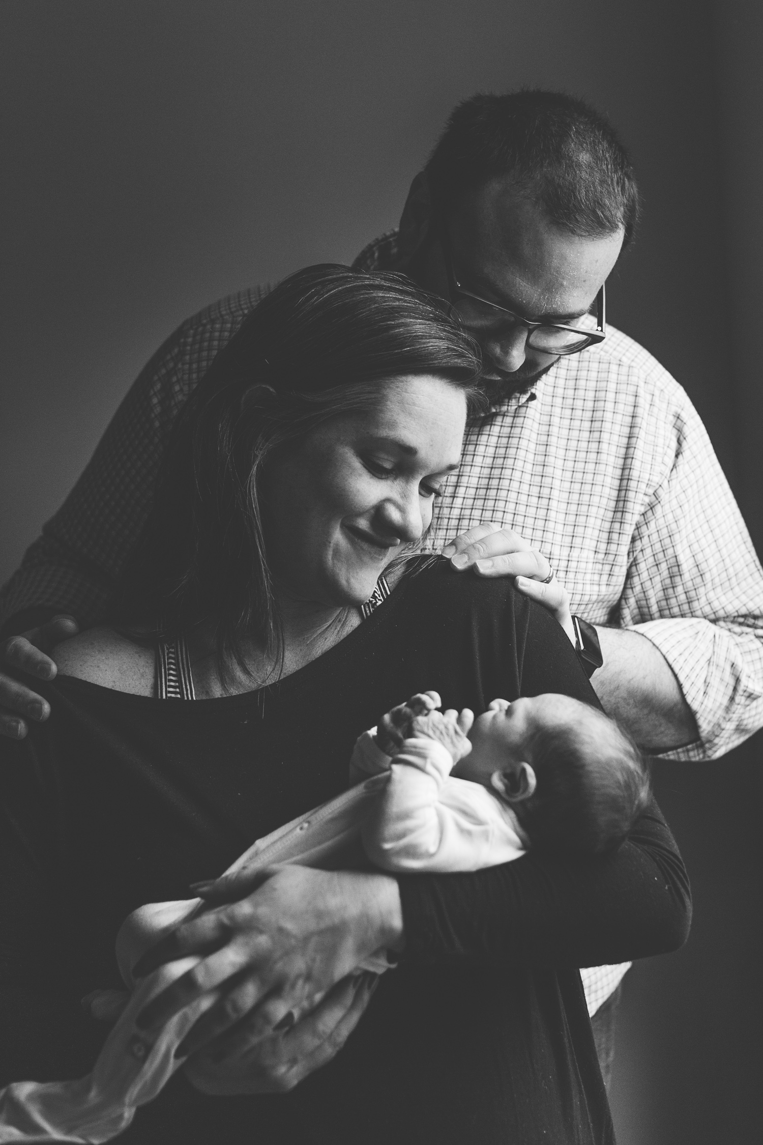 Knoxville Family & Newborn Photography // The Conner Family // In Home Photoshoot