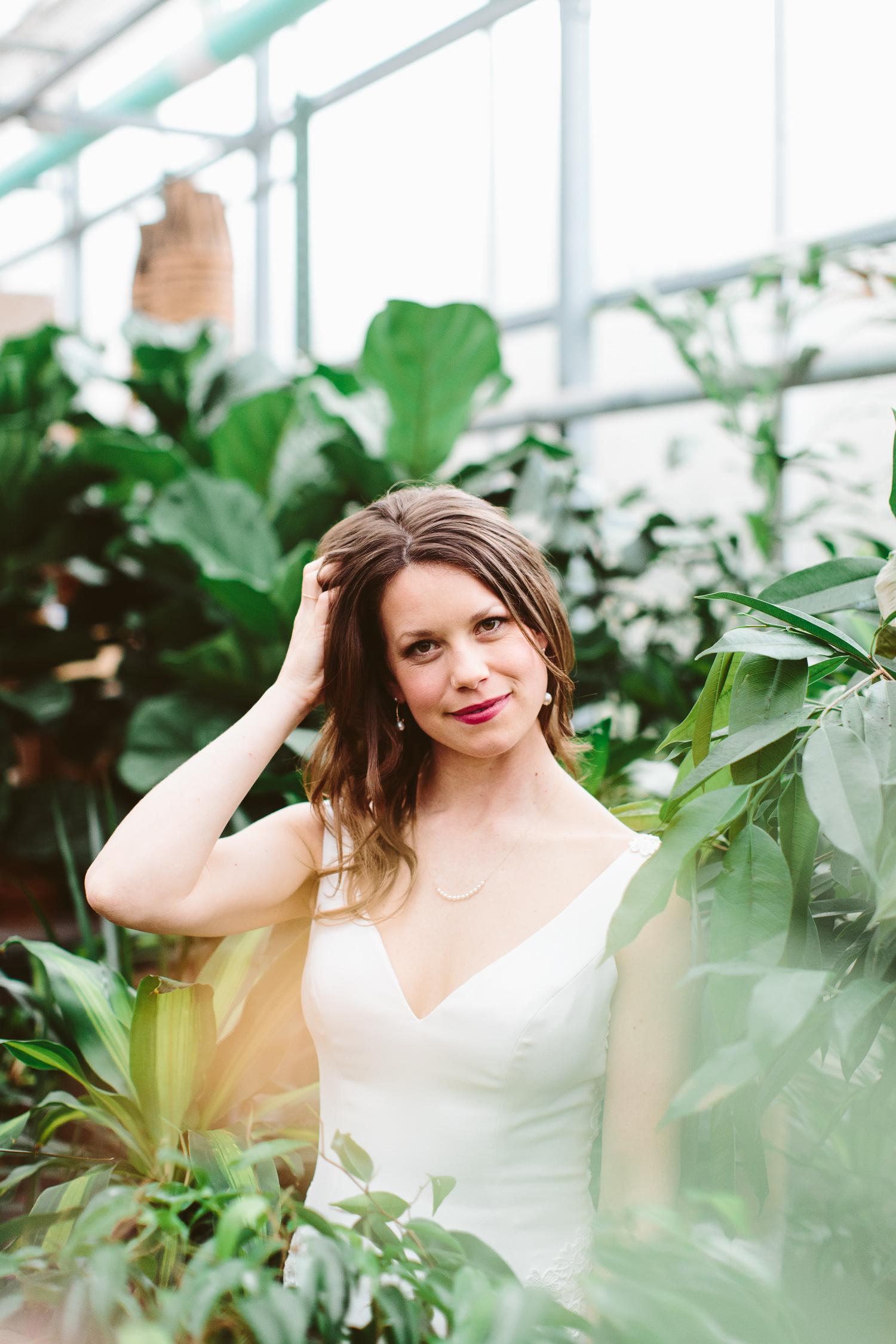 Cameron lee - Stanley's Greenhouse Bridal Portraits