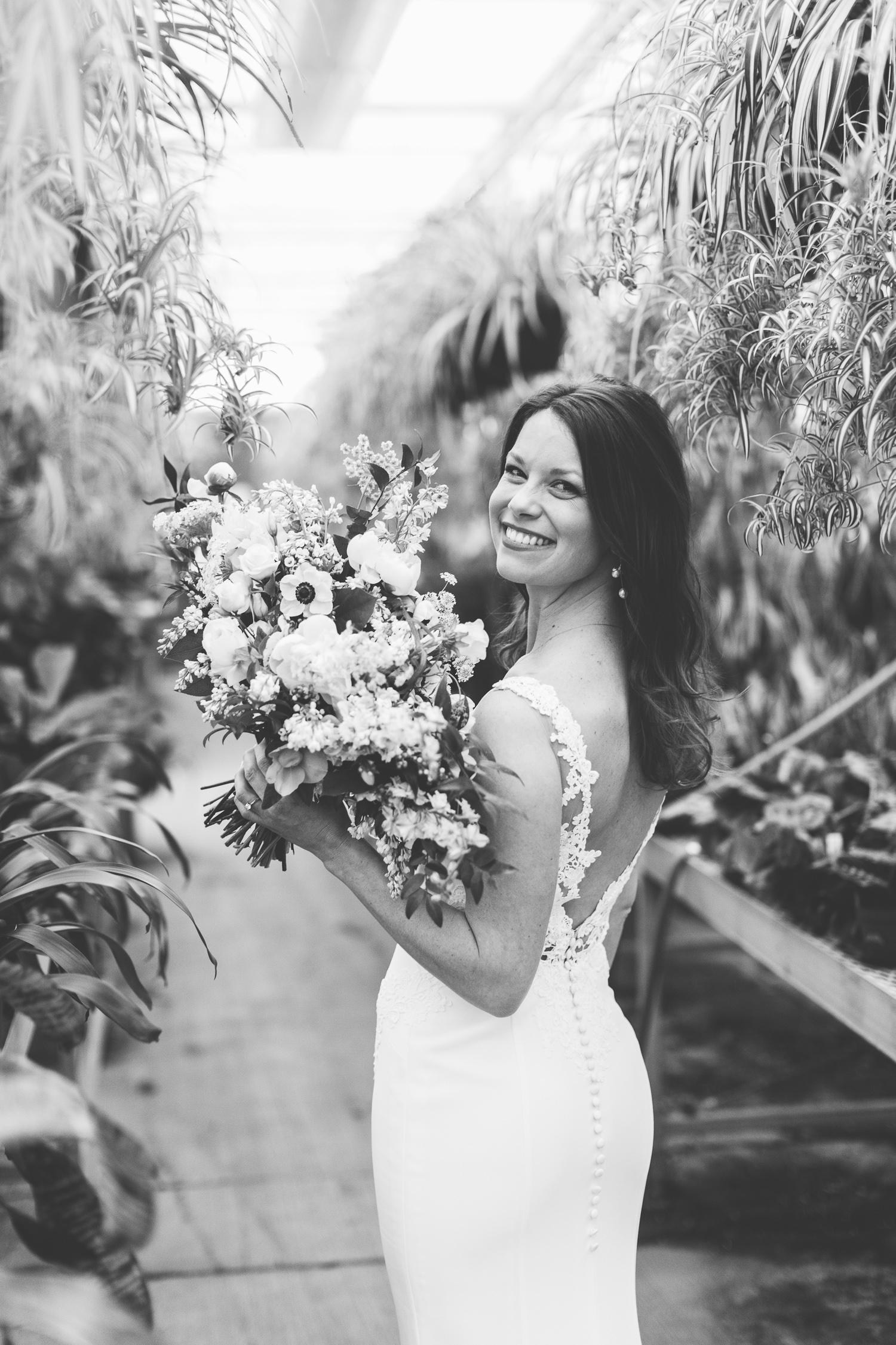 Stanley's Greenhouse Bridal Portraits // Knoxville Portrait Photographer, Suzy Collins