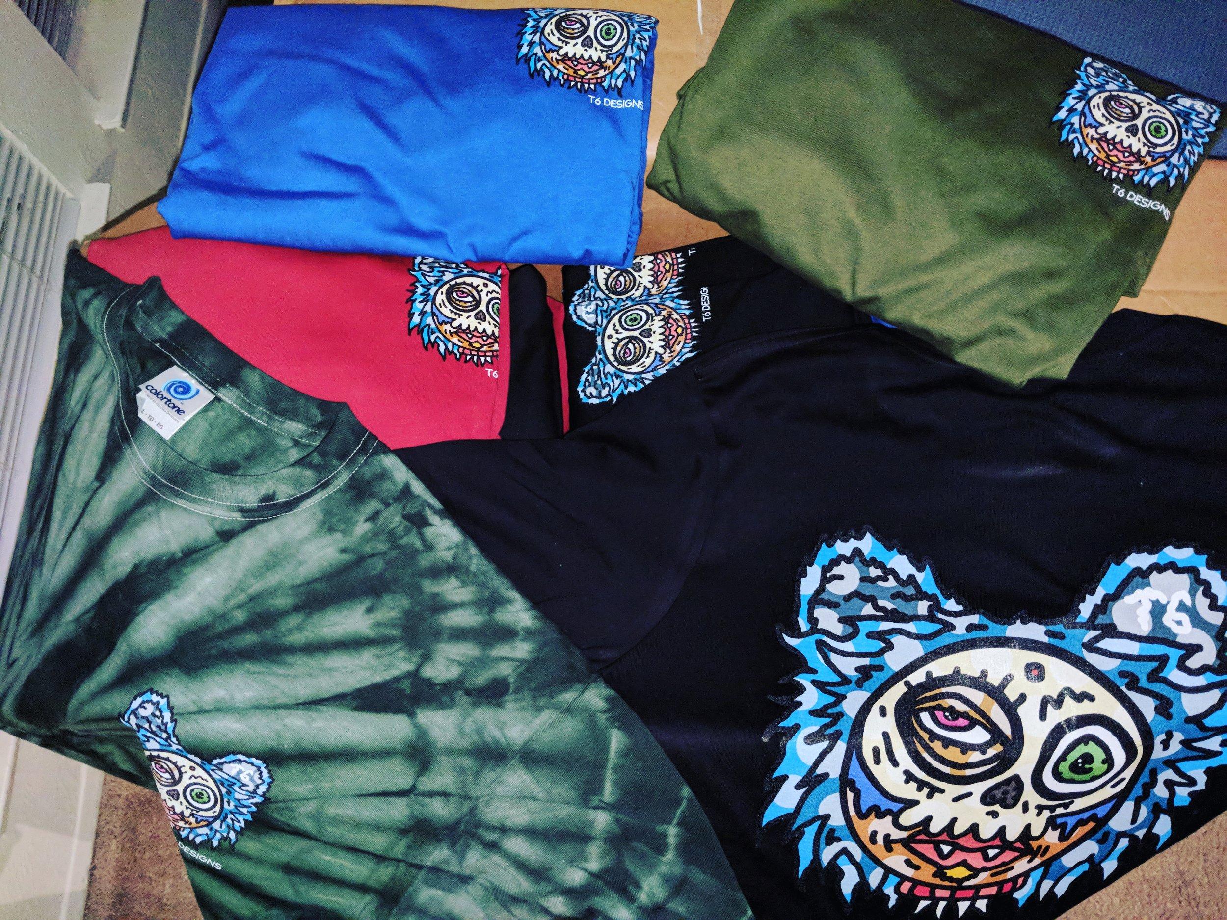 Shirt Shipment: Fuzzy T6 Long/Short Sleeve