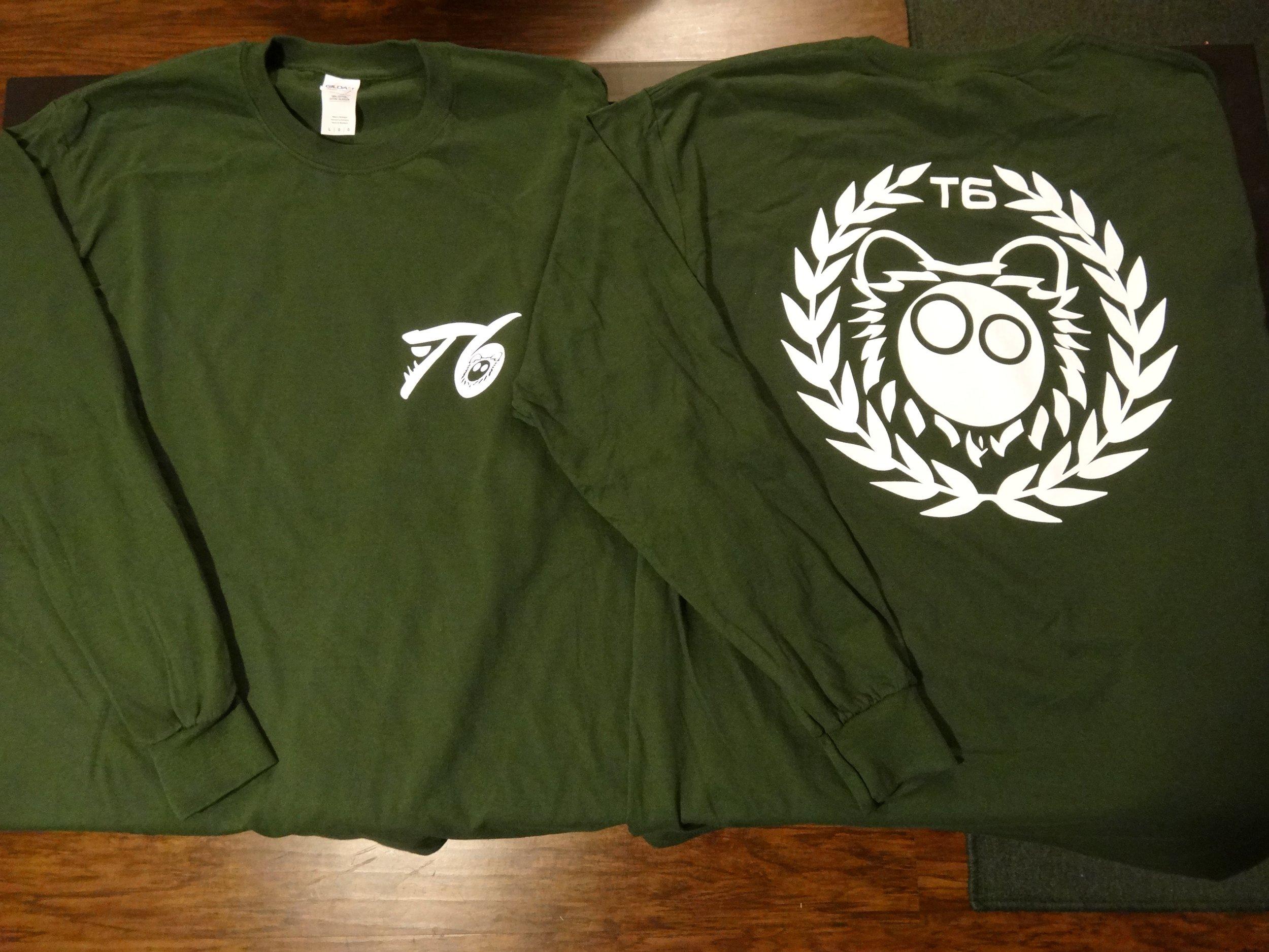 Forest Green Long Sleeve Shirt