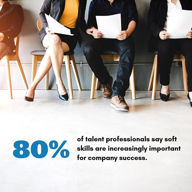 THIS 🔥🔥🔥⁣ According to recent research from @linkedin, HR professionals and hiring managers are looking for candidates with soft skills more than ever 🙌 ⁣ ⁣ Unfortunately the same research found that 57% of professionals do not know how to assess soft skills accurately. ⁣ ⁣ What ways do you look for soft skills during your hiring process? #hiring #softskills #startuplife