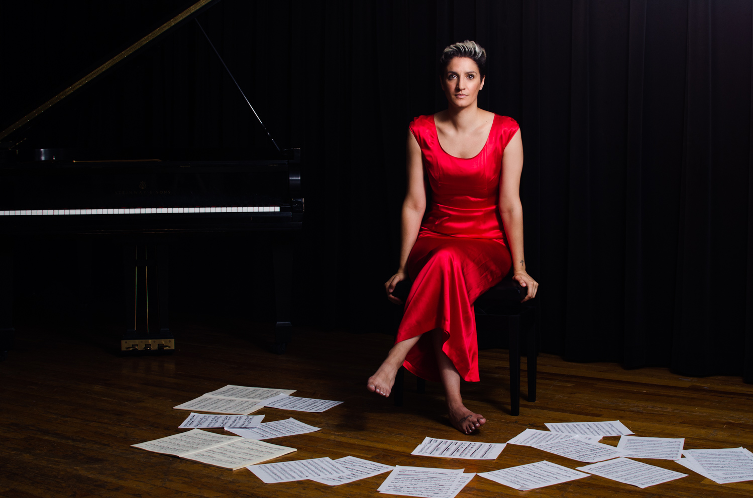 Francesca Khalifa, pianist