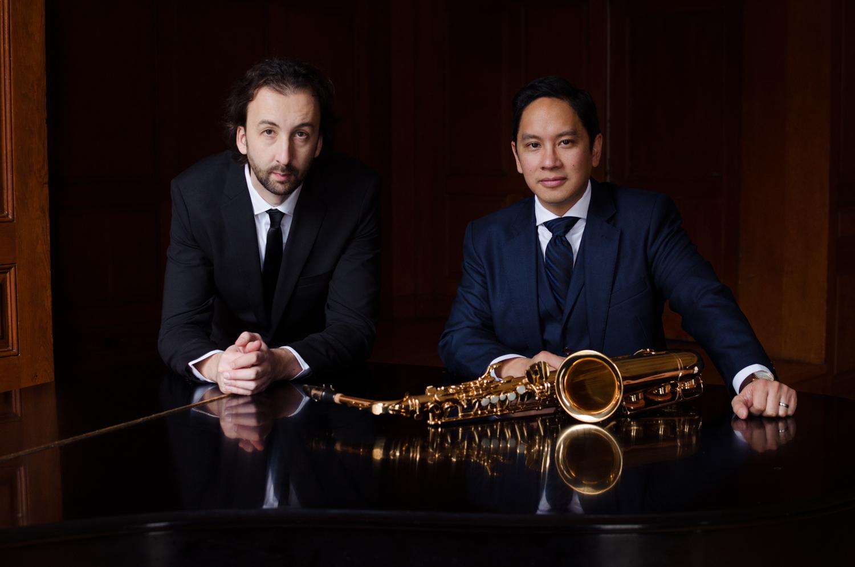 Prometheus Duo - Joseph Abad, saxophone and Marko Stuparevic, piano