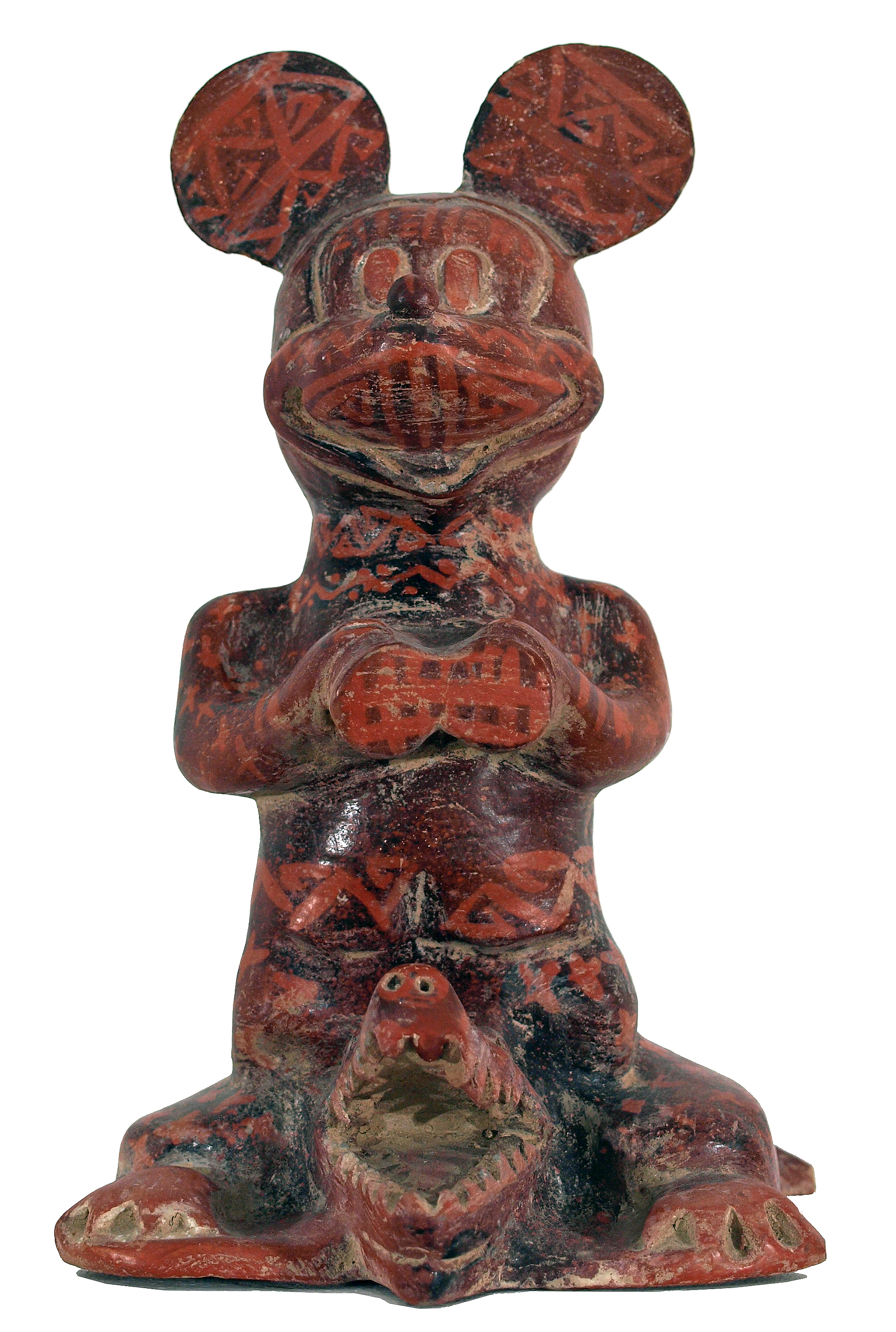 Explorador, 2004, 13.8 x 8.3 x 10.7 inches, Ceramic