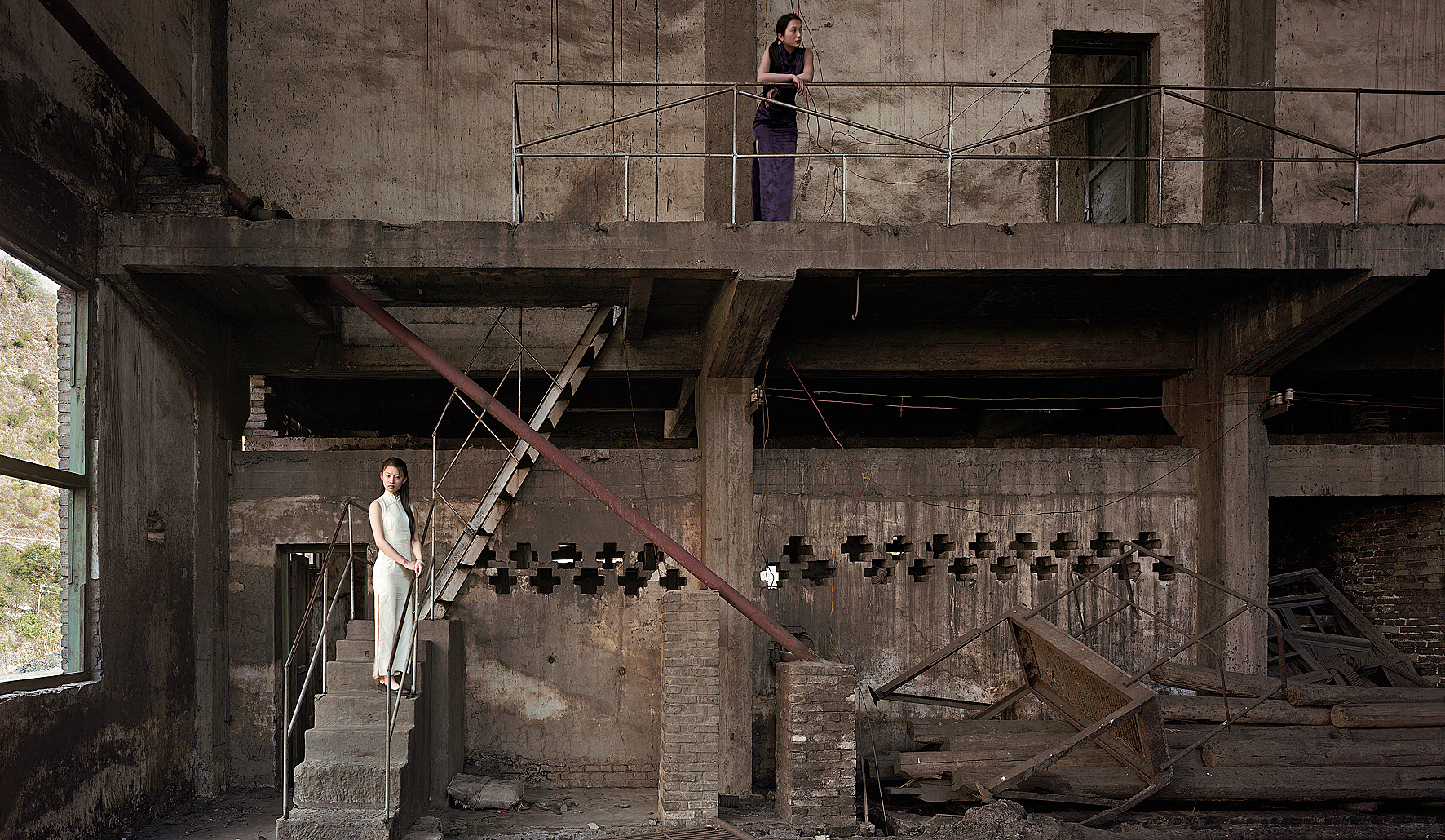 Abandoned Warehouse II (The Great Third Front Series), 2008, 110 x 180 cm, Chromogenic photograph (Edition 2 of 12)