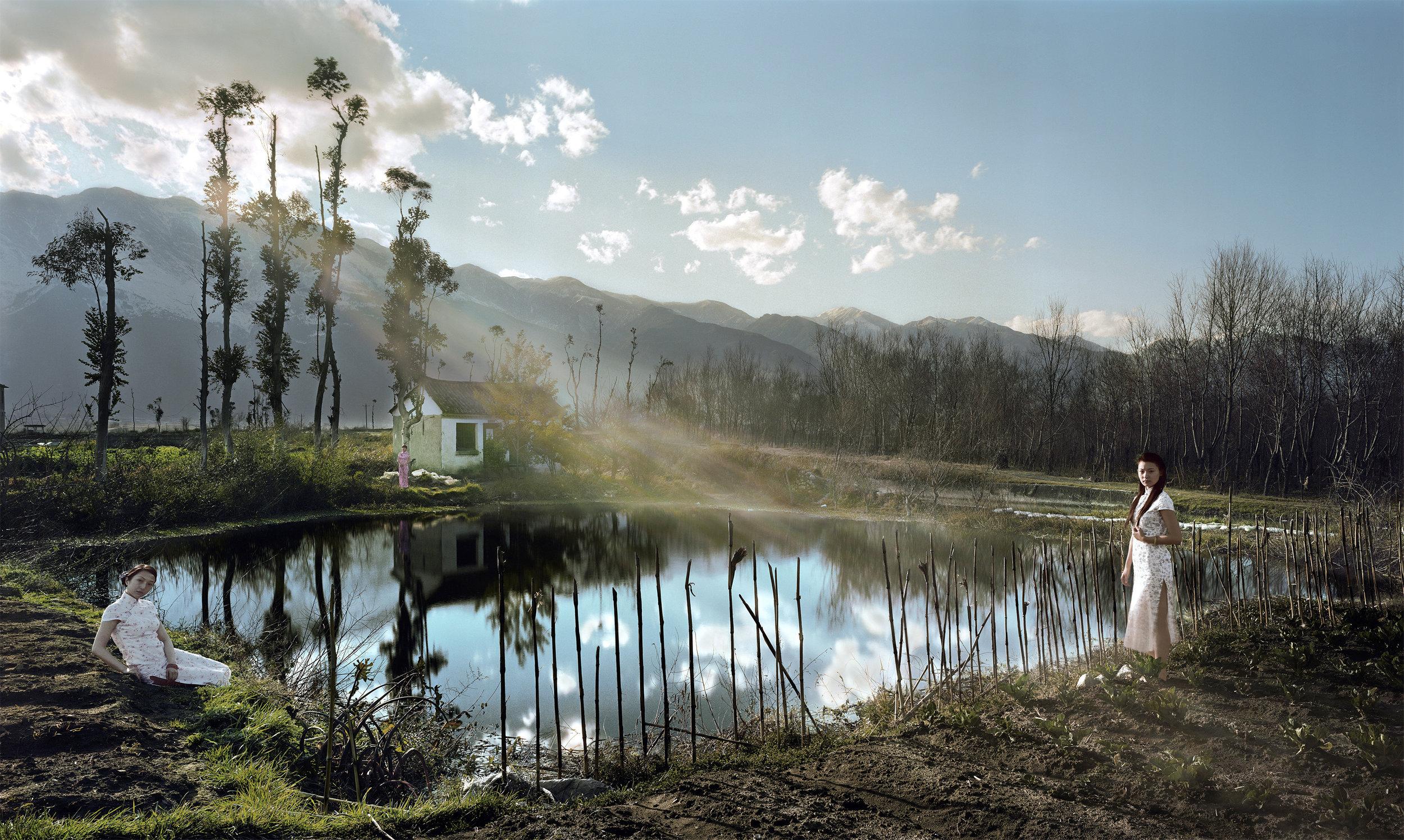 Pond (Temptation Series), 2008, 110 x 180 cm, Chromogenic photograph (Edition 4 of 12)