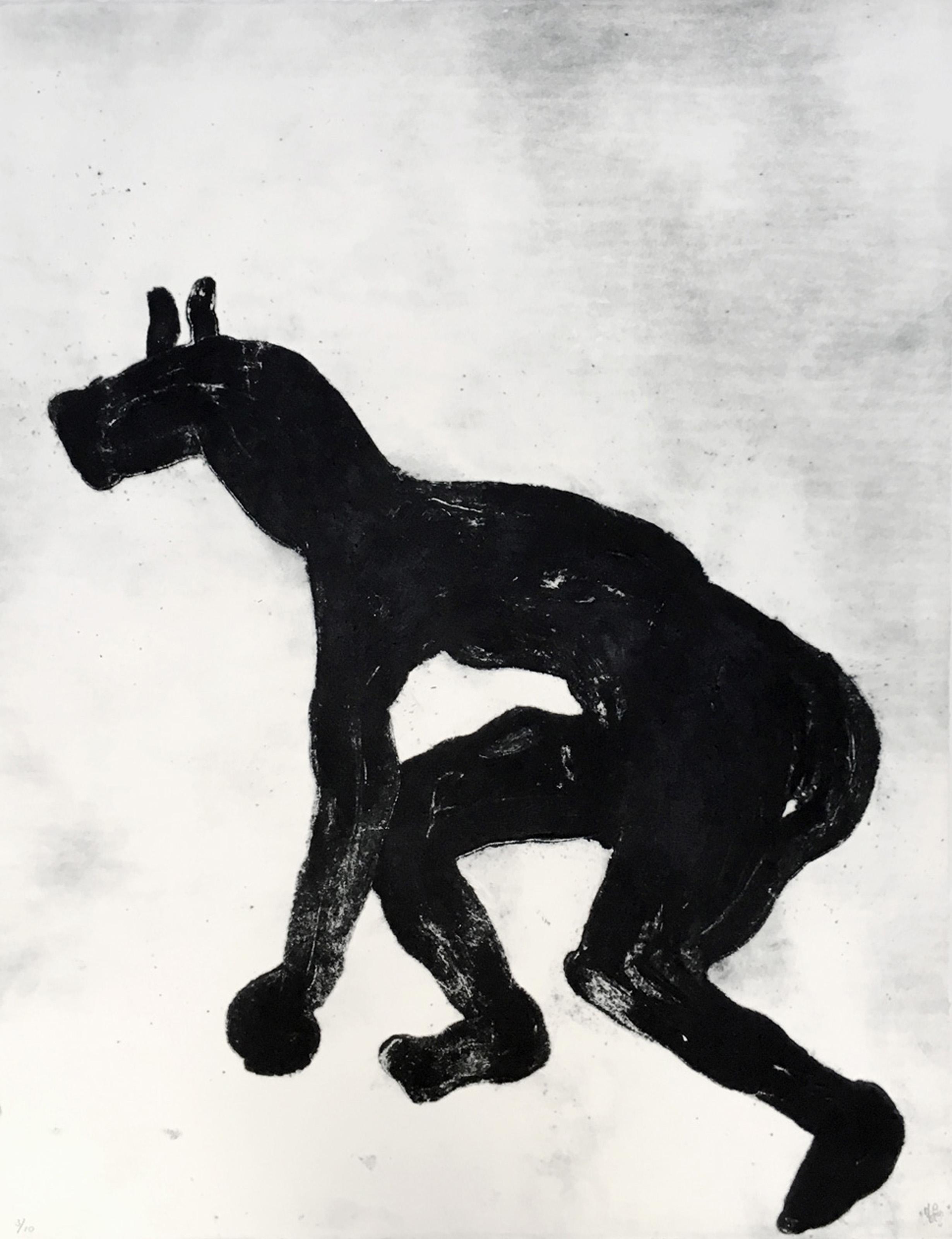 Grand Masquerade II (Ed. 3 of 10), 2009, 20 x 26 in., Carborundum