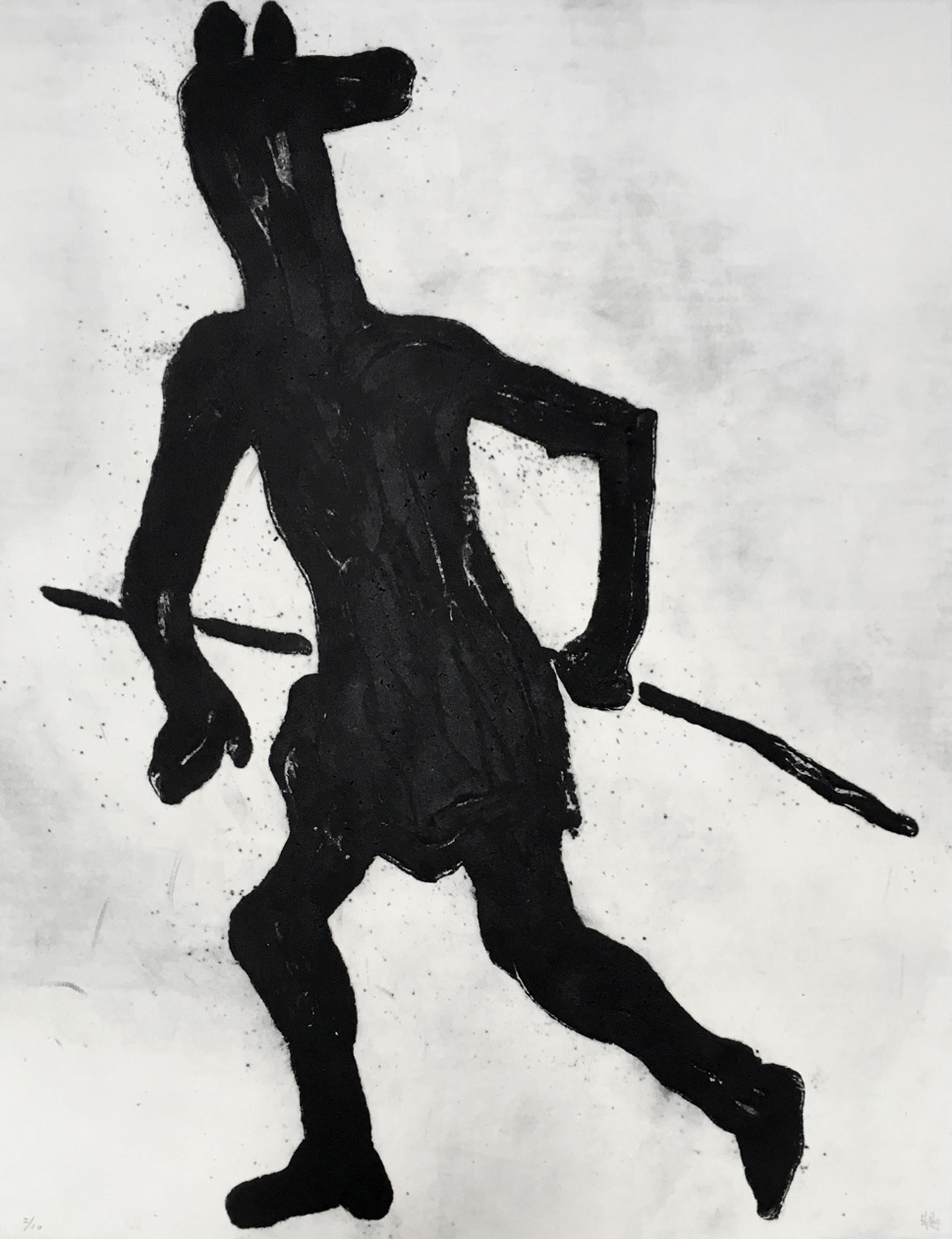 Grand Masquerade VII (Ed. 3 of 10), 2009, 20 x 26 in., Carborundum