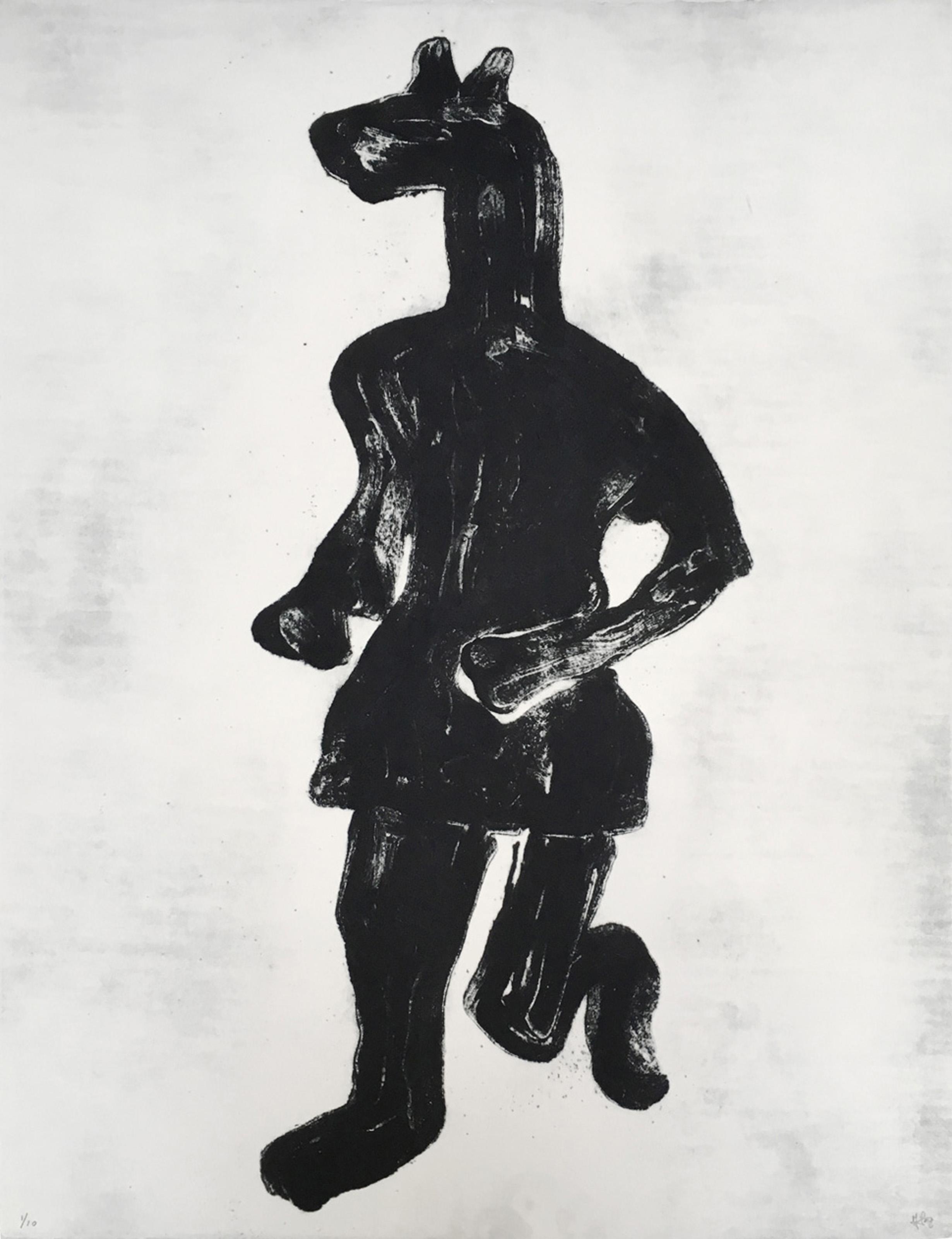 Grand Masquerade XII (Ed. 3 of 10), 2009, 20 x 26 in., Carborundum