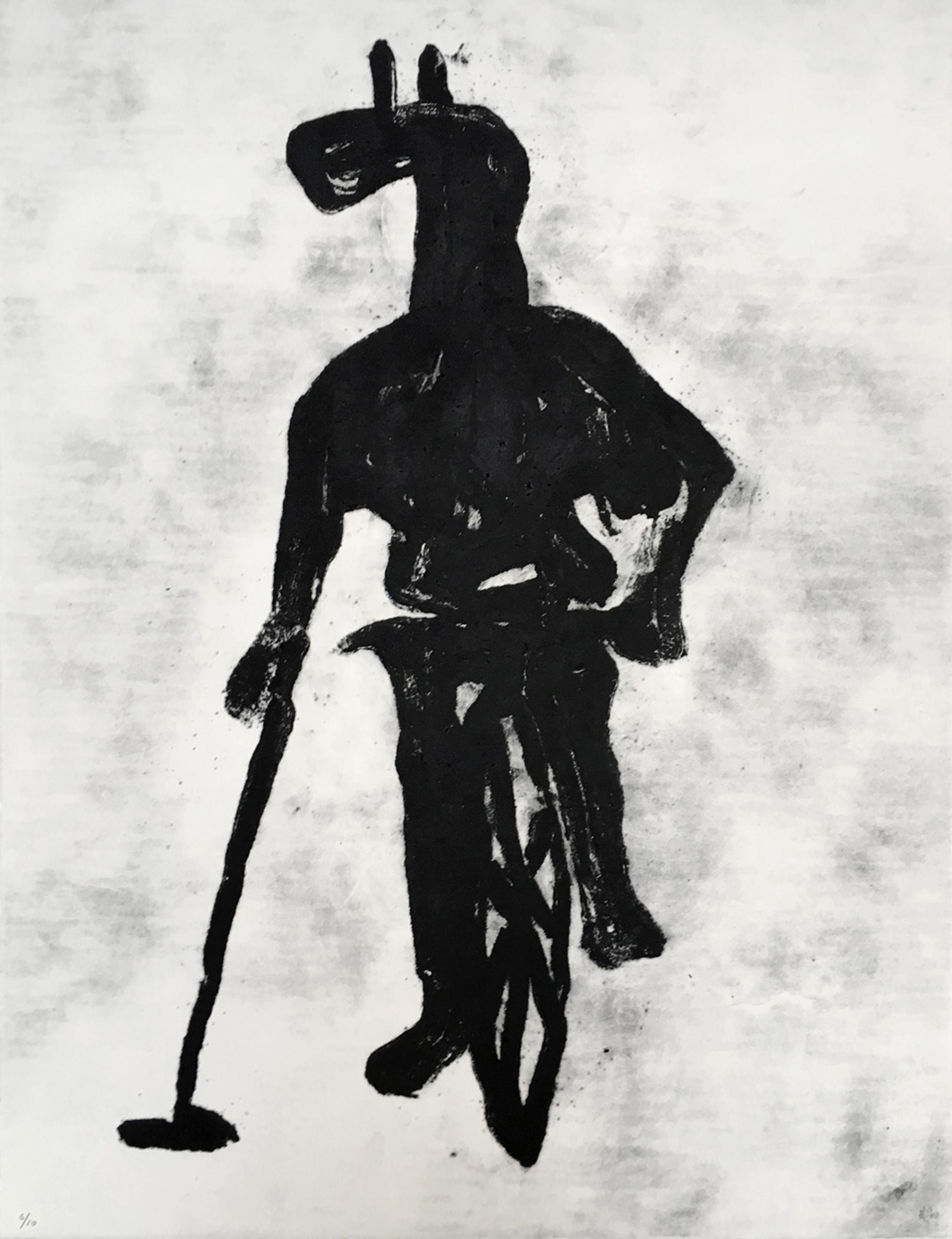 Grand Masquerade XIII (Ed. 6 of 10), 2009, 20 x 26 in., Carborundum