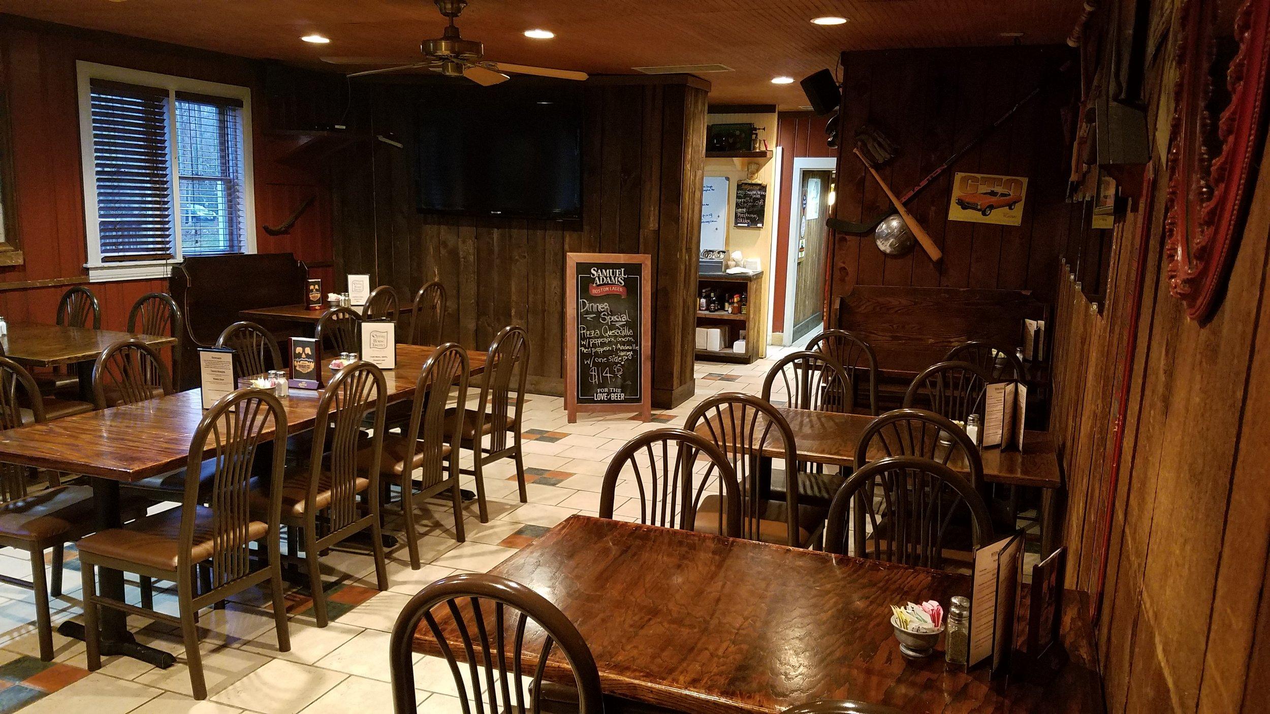 'F' Dining Area