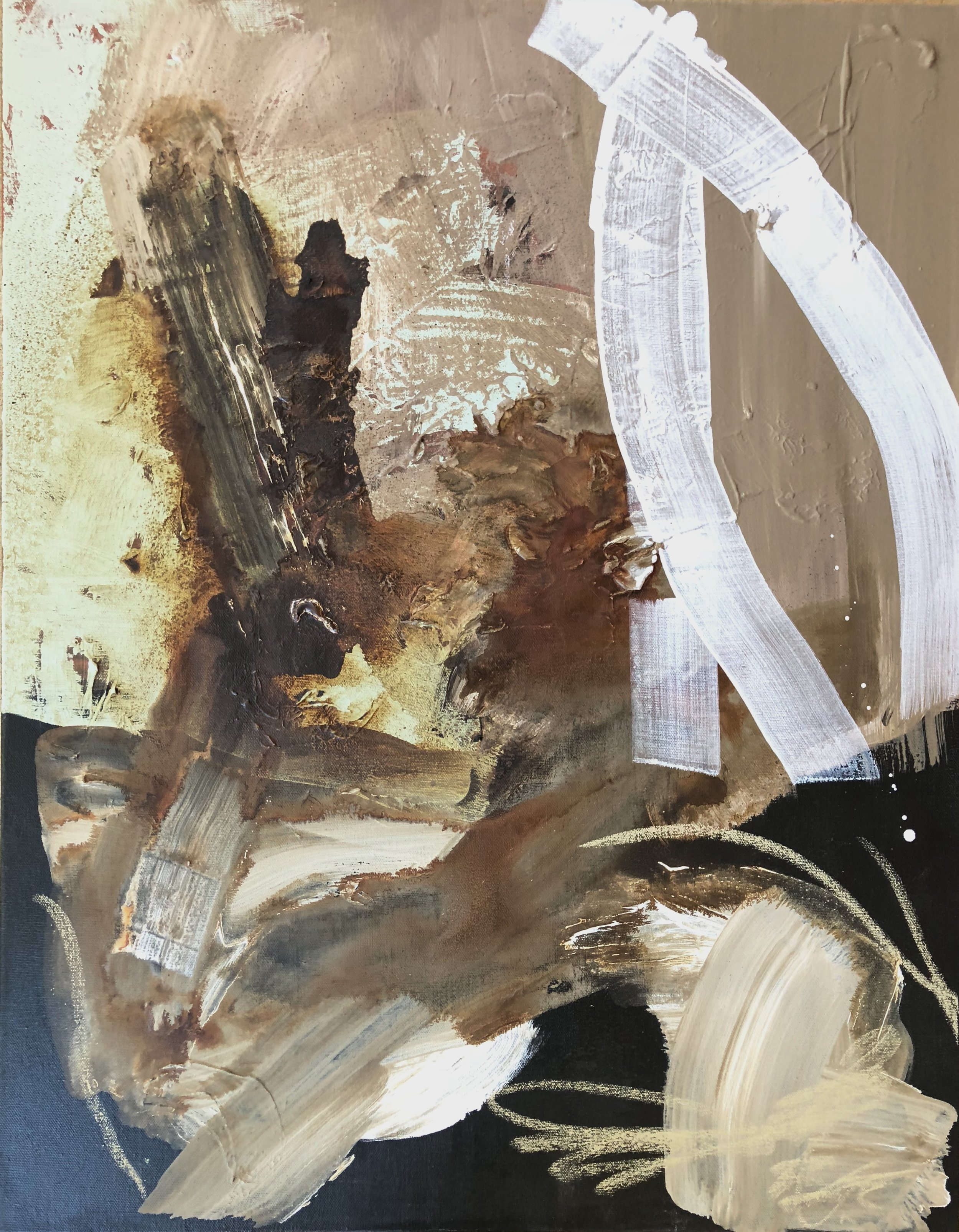 SOLD - WATER LANGUAGE IIImixed media on canvas | 22 x 28