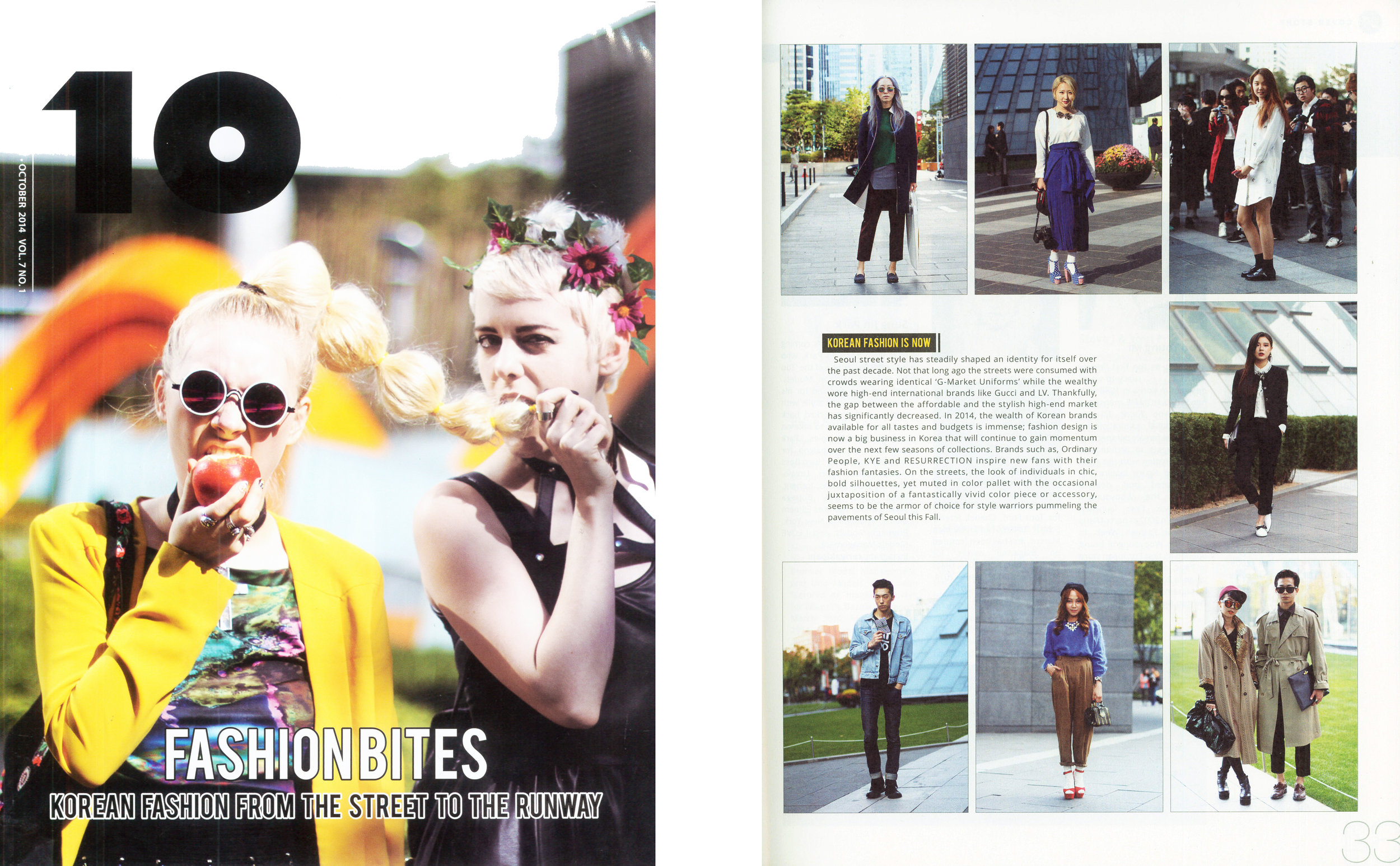 10 Magazine Korea (Cover Story)
