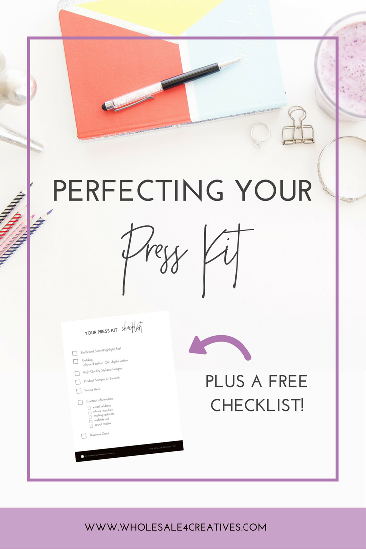 how to make a press kit
