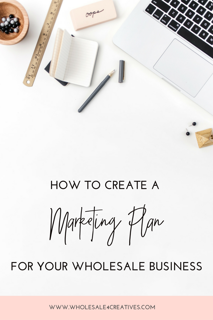 how to create a marketing plan for your wholesale business