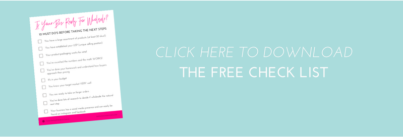 is your business ready for wholesale free checklist