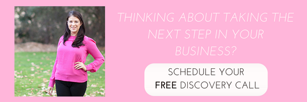 schedule a free discovery call with carolyn keating