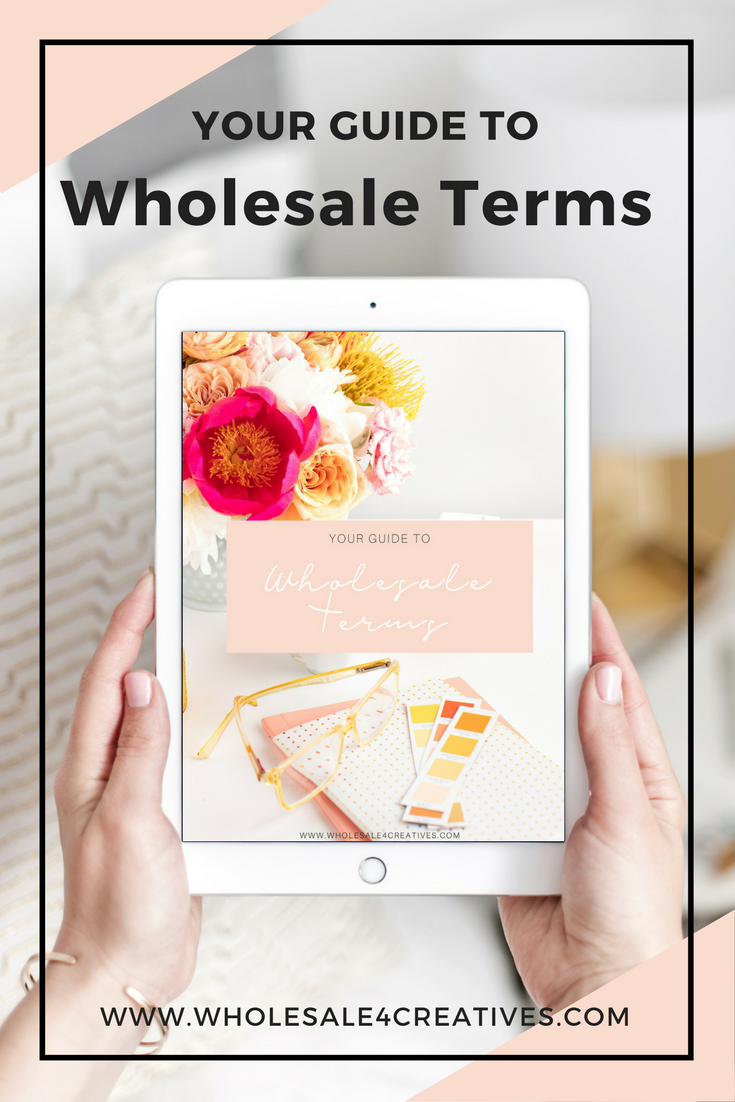 guide to wholesale terms to know