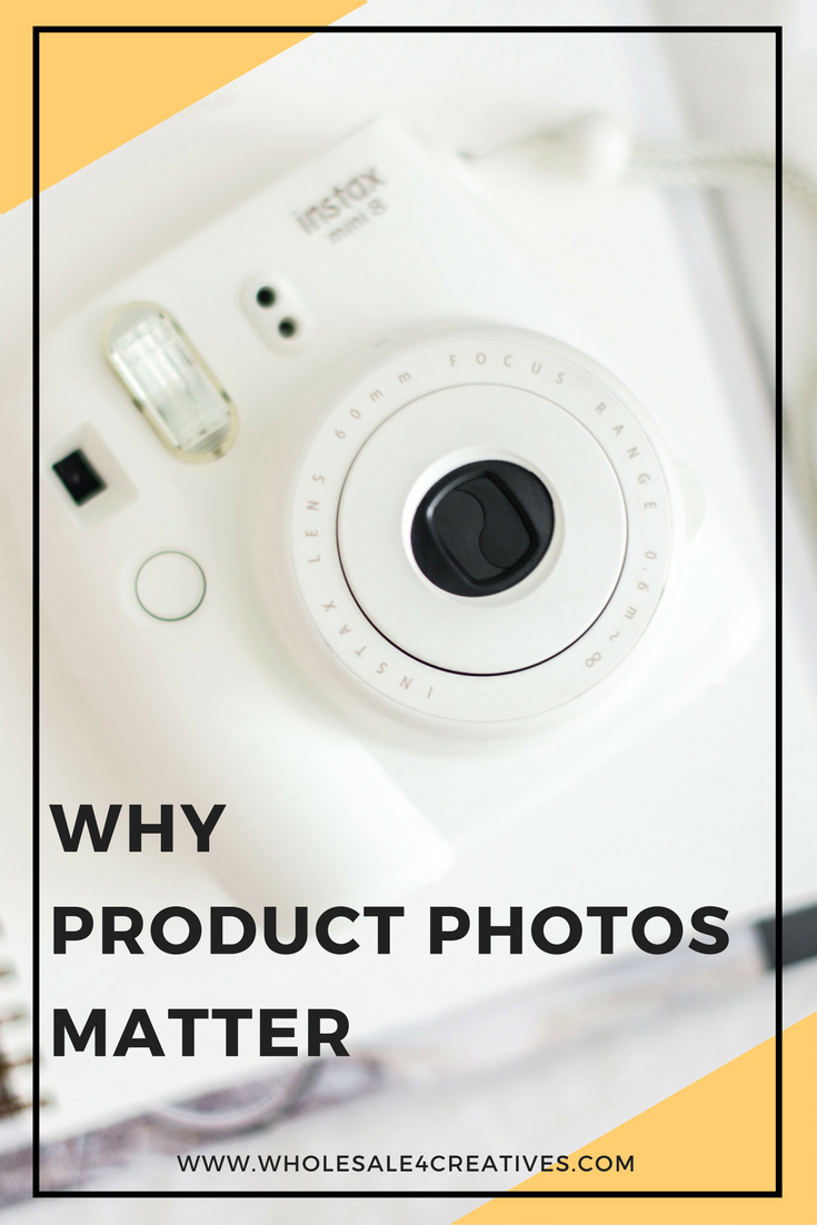 why product photos matter