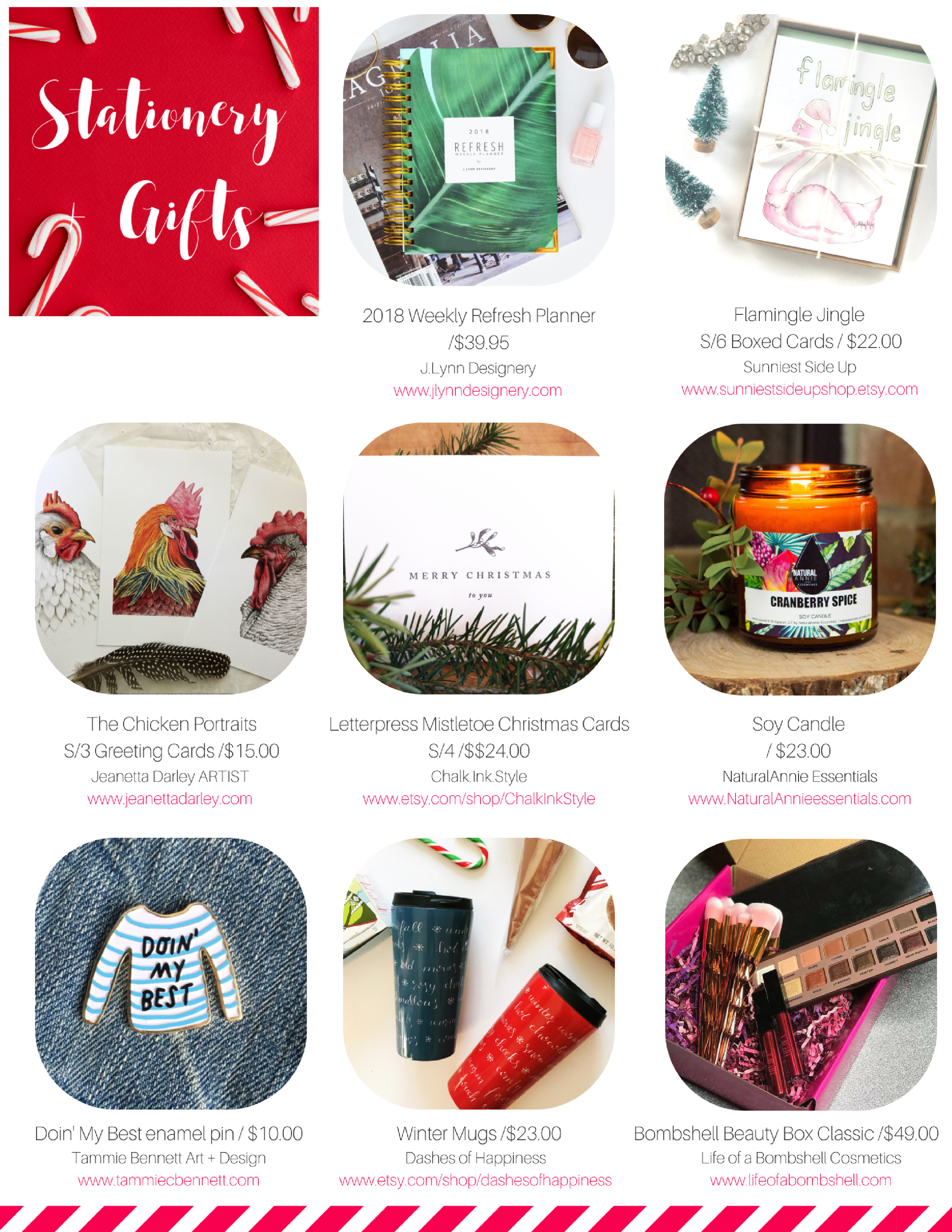 stationery + gifts holiday gift guide 2017 the wholesale collective
