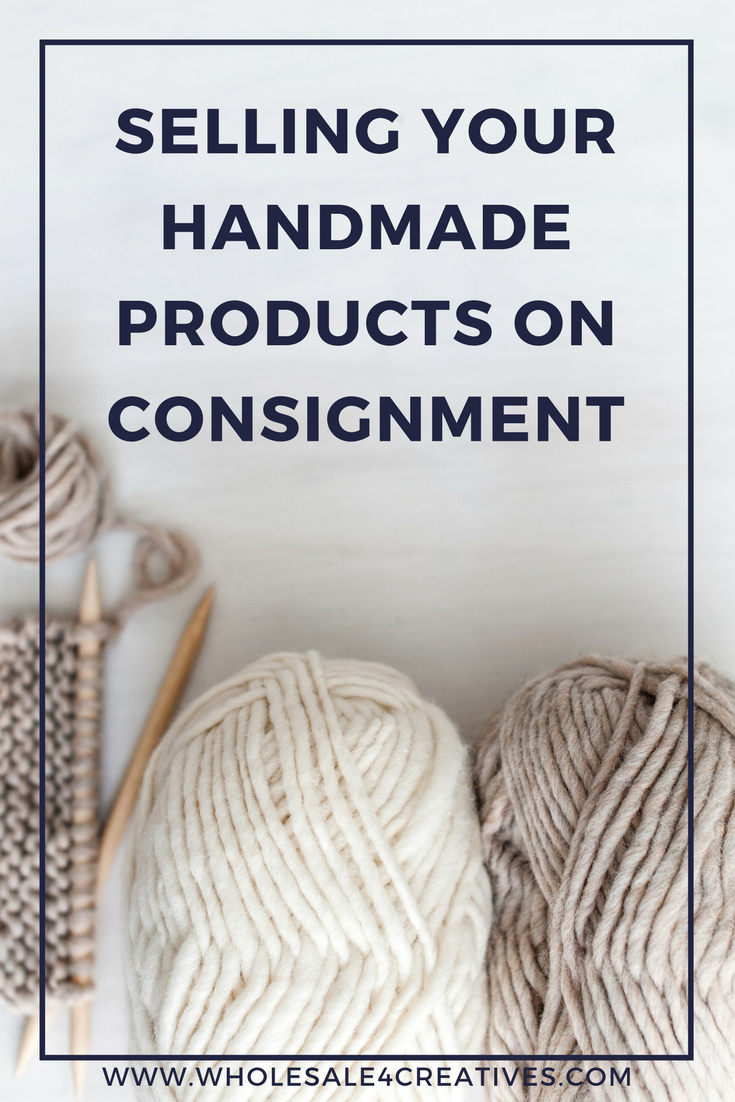 selling your handmade products on consignment