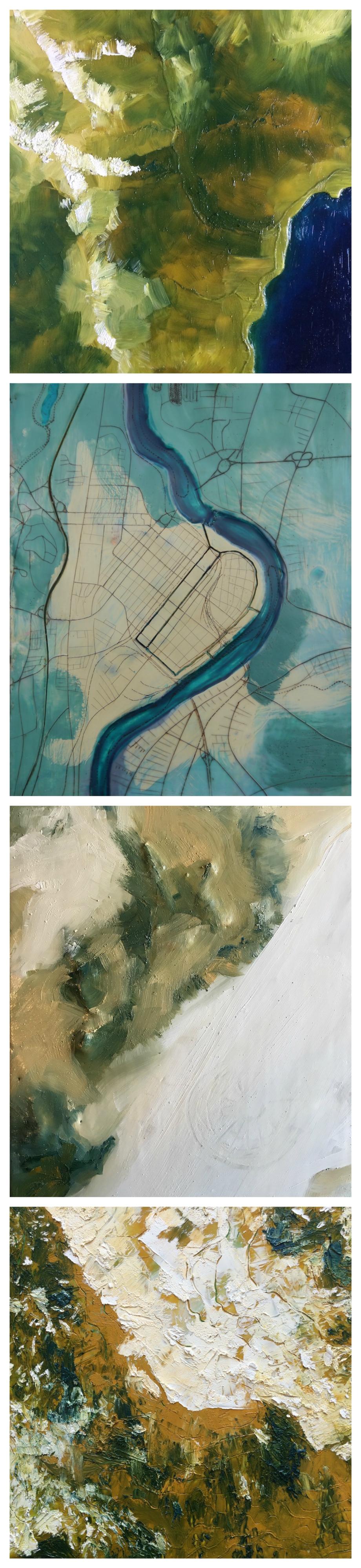 Top to bottom: Squaw Valley, Lake Tahoe, California; Holyoke, Massachusetts; The Playa, Black Rock Desert, Nevada; Mt. Rose, Nevada