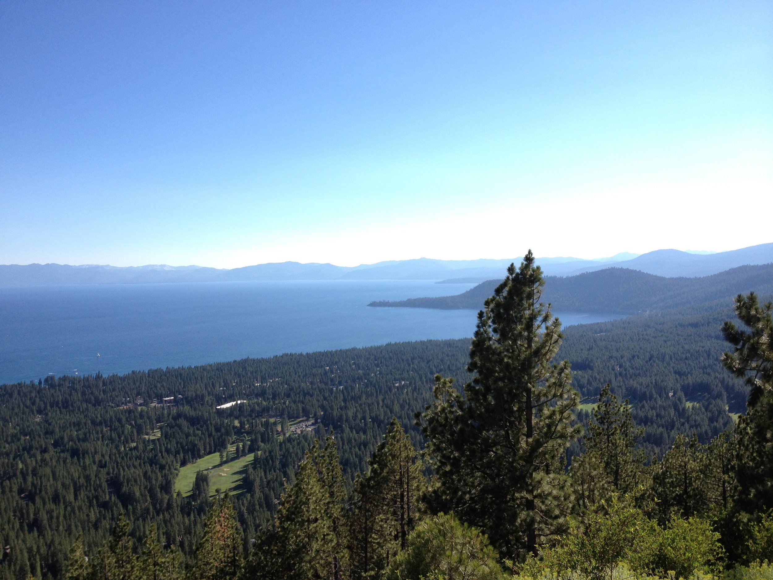 The first photo I ever took of Lake Tahoe, July 2012.