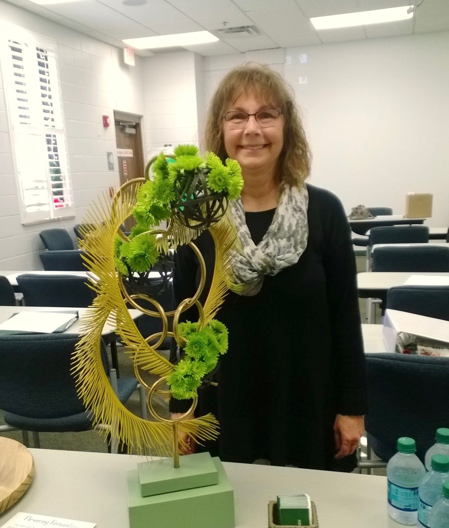 Bev Williams with Design Example