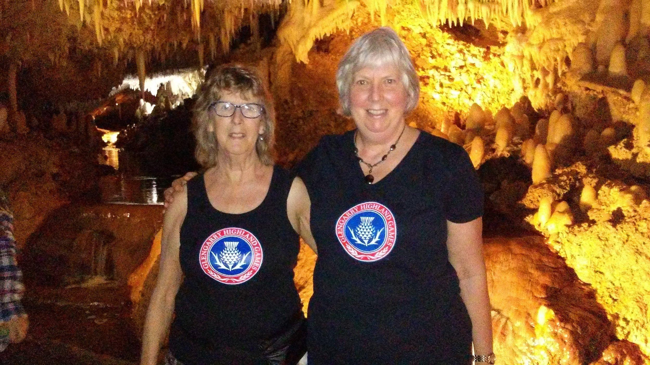 Karen and Susan Brown in Barbados for March break.