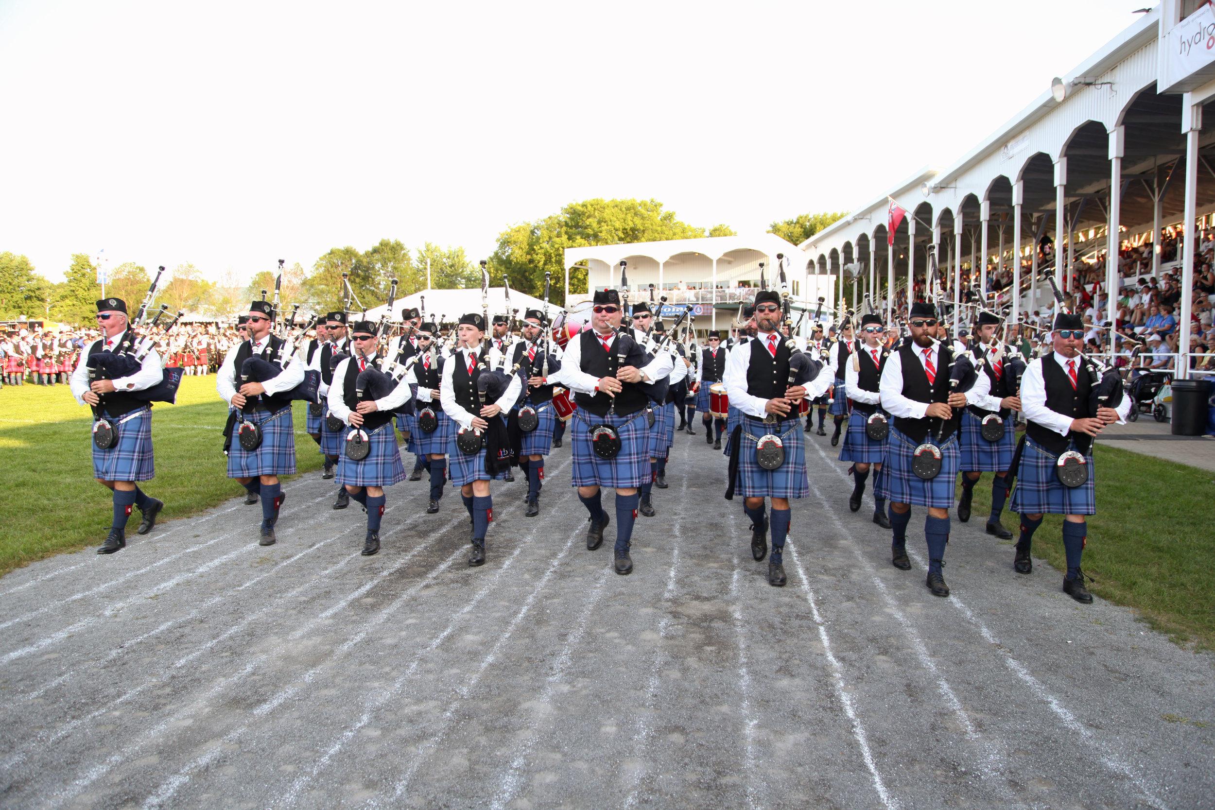 City of Dunedin Pipe Band