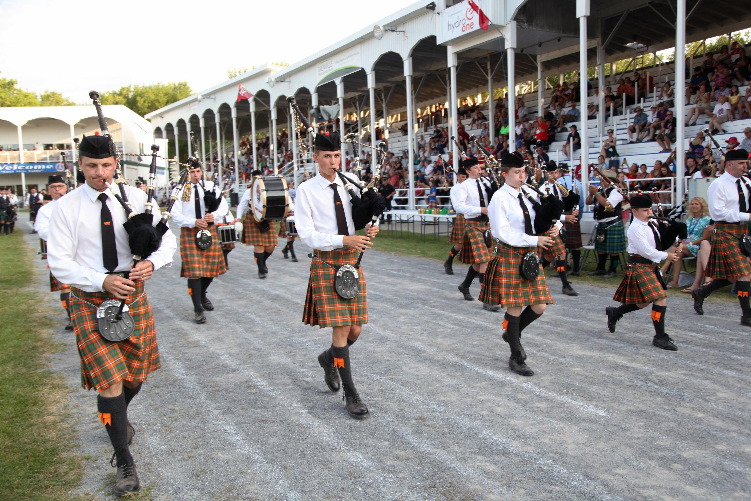 Cape Breton University Pipe Band