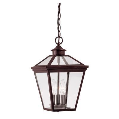 illumine satin 3 light bronze lantern home depot