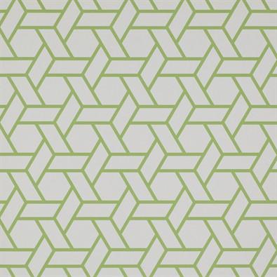 trellis wallpaper vert Manuel Canovas