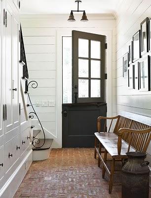 Dutch door tradtional home