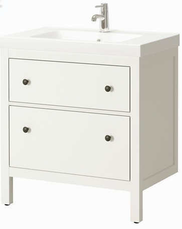 hemnes white with sink 299 and 31-1:2 j