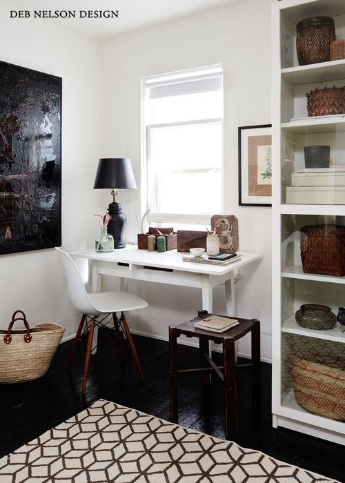 Deb Nelson Design Small Space Home Office
