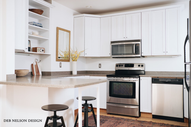 Deb Nelson Design: After Low Budget Kitchen Reno