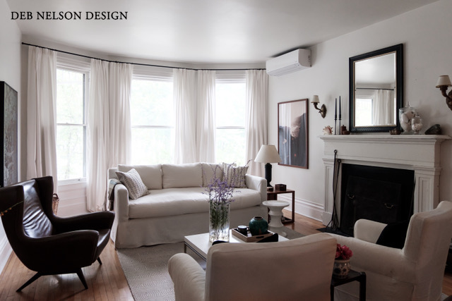 Deb Nelson Design Giving an Old Fireplace New Life