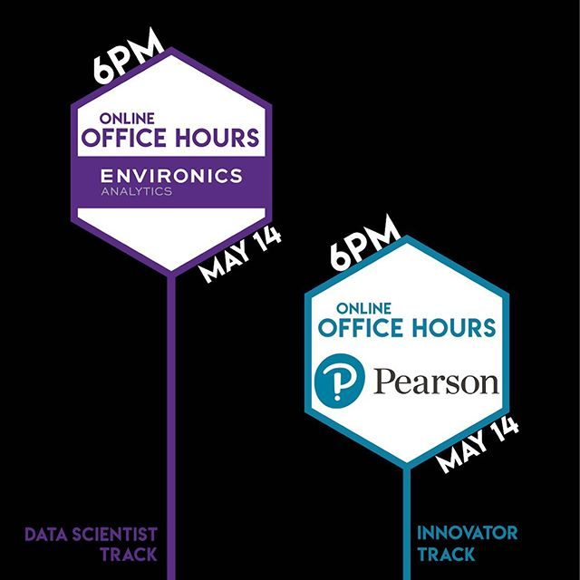 May 14th:Office Hours 👉🏼Tickets linked in bio #datathon #innovation #datascience #technology #takeadip