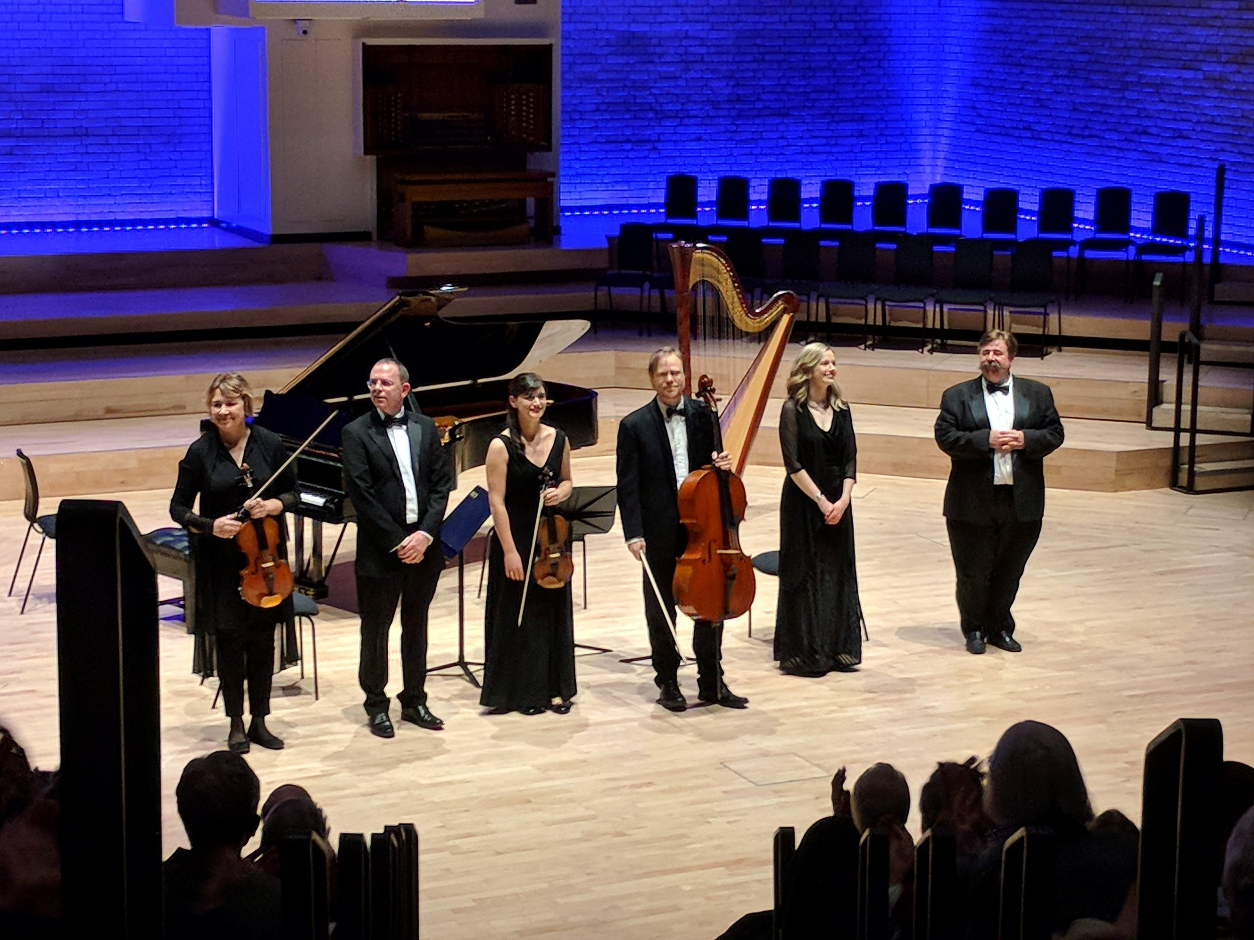 """<span style=""""color: #4060a5; font-weight: 600"""">Royal Northern College of Music, Manchester - 19 February 2018</span>"""