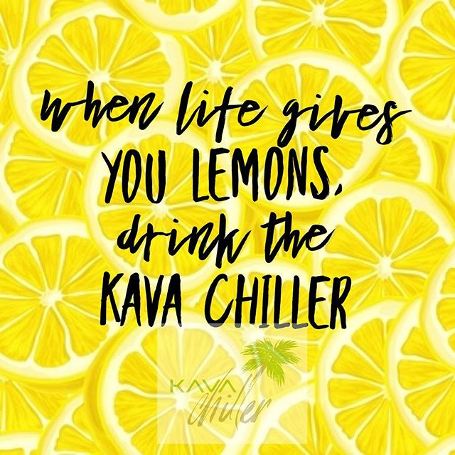 It's almost the weekend! Make sure you grab your kava chillers to help with winding down from the week!