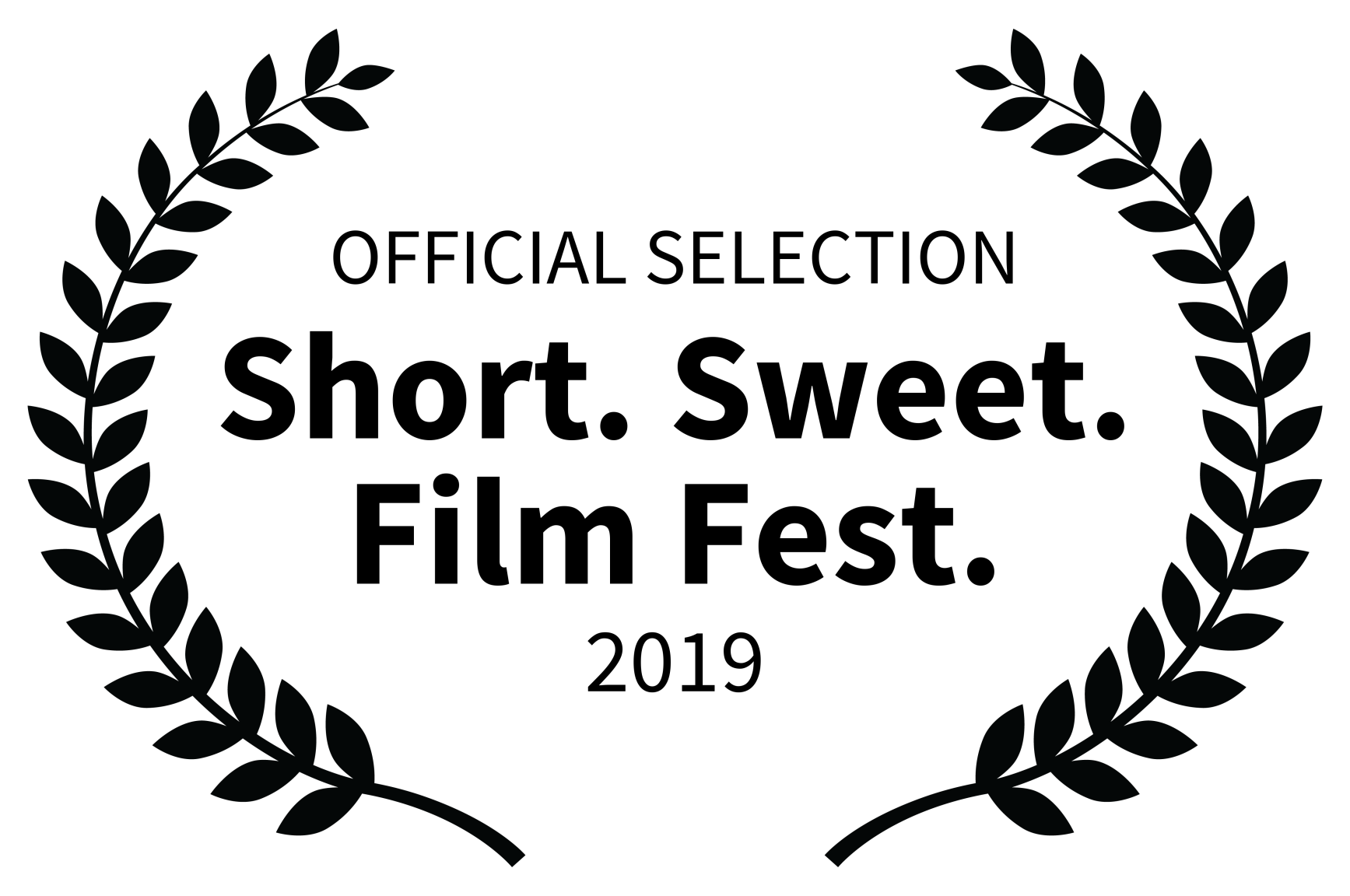 OFFICIAL SELECTION - Short. Sweet. Film Fest. - 2019.png