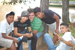 Escarleth, Miguel, David, Giovany and Milton.