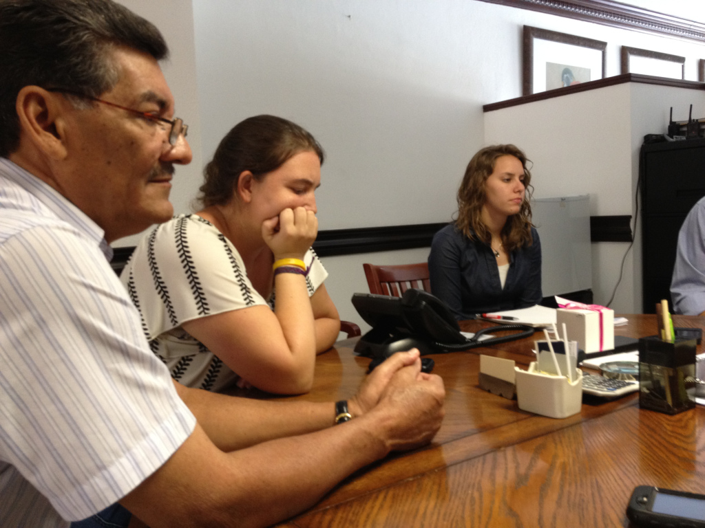 One of our Honduran NGO board members, Armando Pacheco, was present to watch over the transaction.