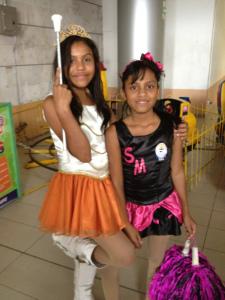 Pamela with Nayeli