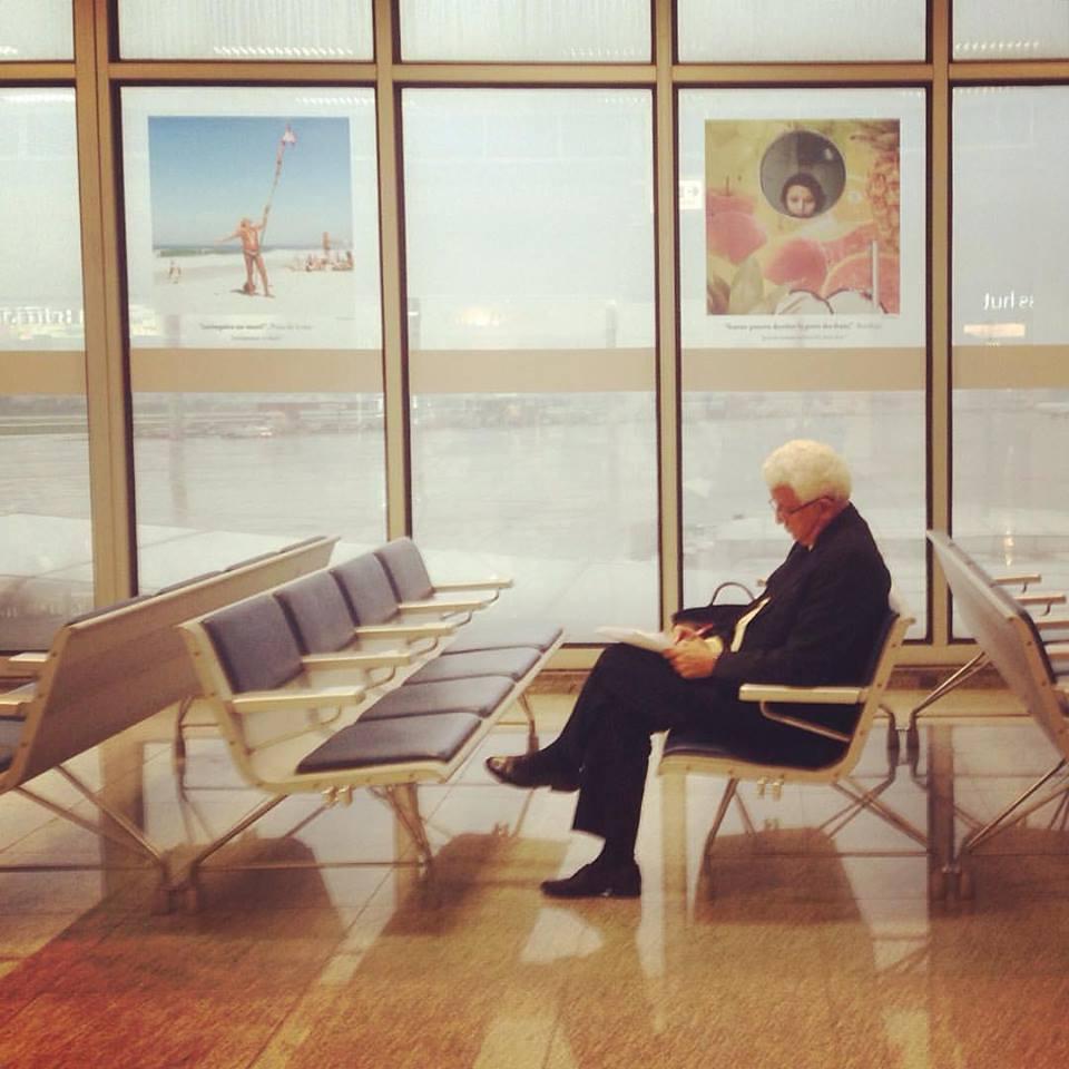 Exposição em 2016 no Aeroporto Internacional do Rio de Janeiro